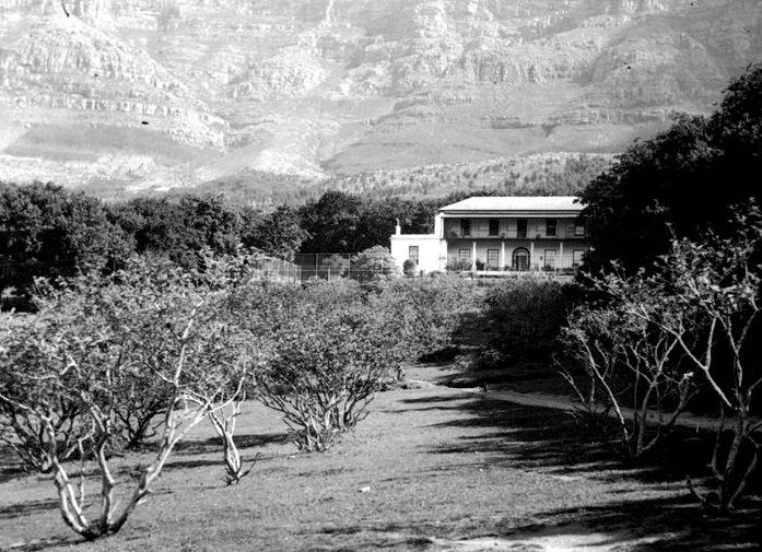 The historic Oranje Zigt manor house
