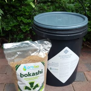 Bokashi kit  - 1kg bag + 20l bucket